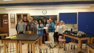 Interact donating to Stem Lab at Ponderosa