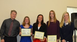 Speech contest winners 2014