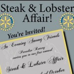 Steak and Lobster top half of tickets